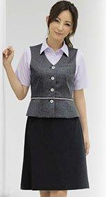 S-15980 15981 SELERY(セロリー) ニット Aラインスカート(53cm丈) 無地 9915980