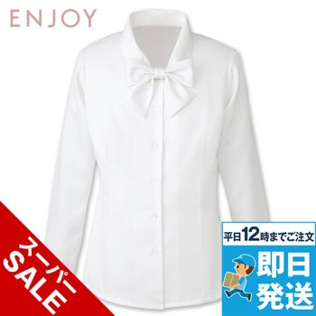 EWB433 enjoy 長袖ブラウス
