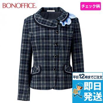 BONMAX BCJ0116 [通年]ファンシータータン ジャケット(リボン付き) チェック 36-BCJ0116