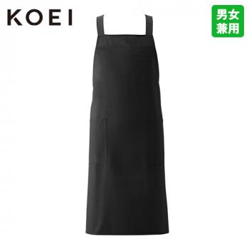 KI300 興栄繊商 高級感ある和風ショートエプロン(男女兼用)