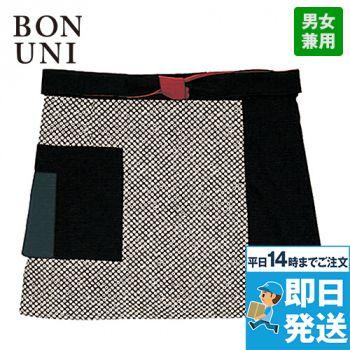 47304 BONUNI(ボストン商会) 和風前掛け(男女兼用) 流連