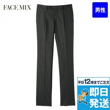 FP6017M FACEMIX/GRAND(グラン) ストレッチパンツ(男性用) スリム/ストライプ