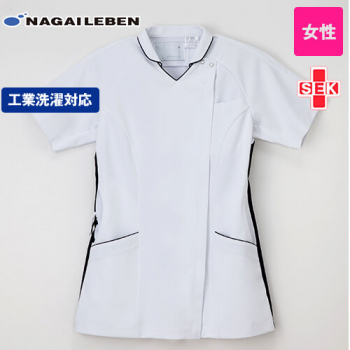 LX5372 ナガイレーベン(nagaileben) プロファンクション 女子ハイブリッドメディウェア ナースジャケット