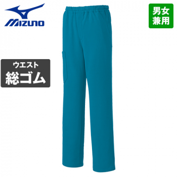 MZ-0085 ミズノ(mizuno) ニットスクラブパンツ(男女兼用)股下マチ