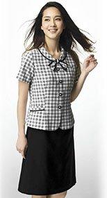 S-16250 16251 SELERY(セロリー) Aラインスカート(53cm丈) 無地 99-S16250
