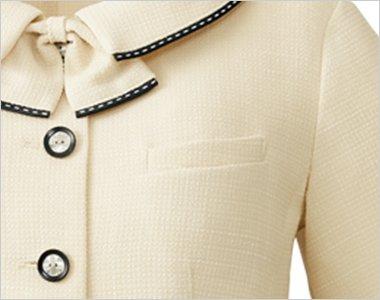 名札ホール付き胸ポケット