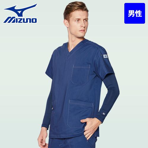 MZ-0155 ミズノ(mizuno) 9分袖アンダーウェア(男性用)