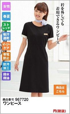 衿を外しても着用できるワンピース7720