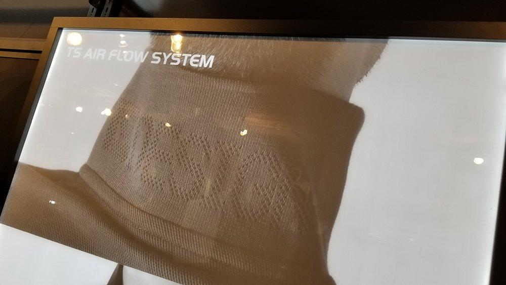 TS DESIGN4065の衿リブジャガードメッシュ