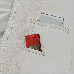右胸 インナー内ポケット