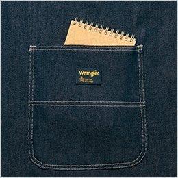 両脇 大型フロントポケット