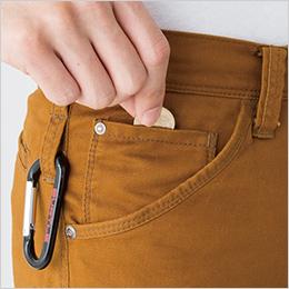 右 コインポケット