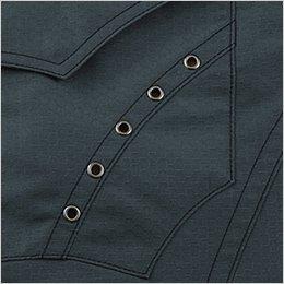 左胸ポケット 5蓮アイレット