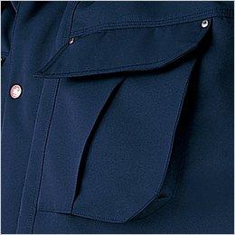 左マチ付きポケット