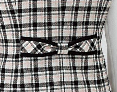 リボンのようなかわいい背ベルト