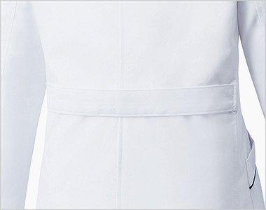 腰高効果のある背ベルト付き
