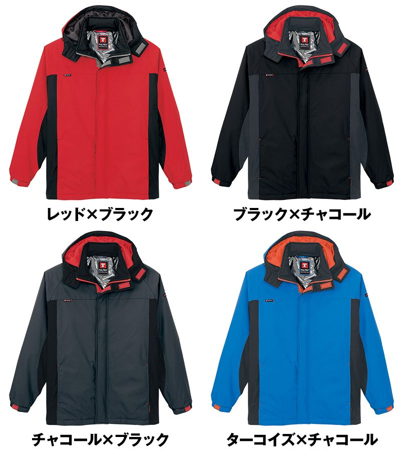 AZ50109 アイトス タルテックス 防寒ジャケット 色展開