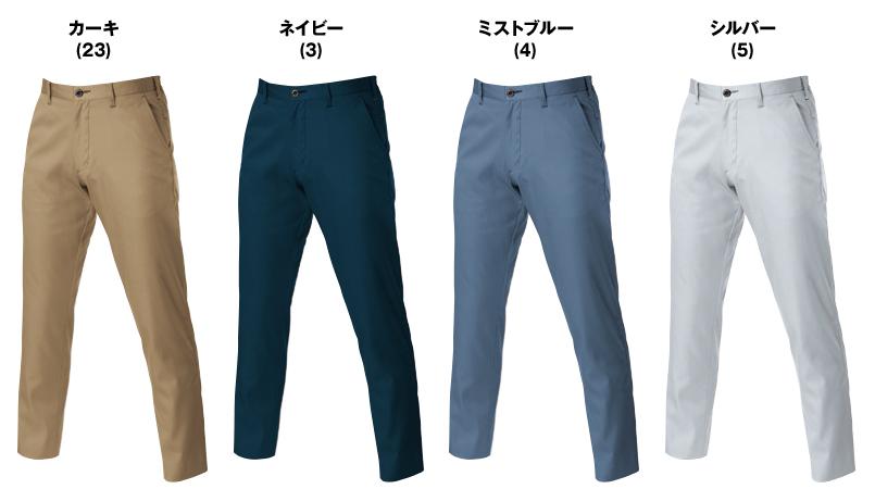 バートル 6107 [春夏用]T/Cライトチノシャーリングパンツ(男女兼用) 色展開