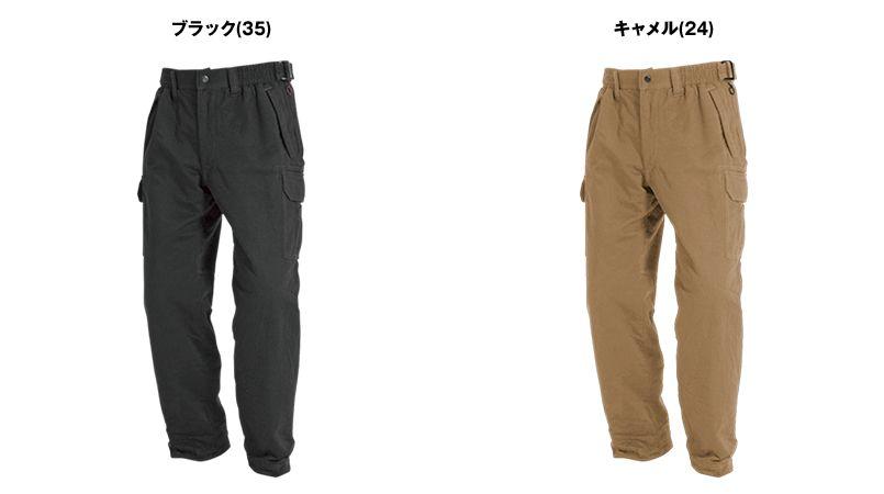 バートル 8112 チノクロス防寒パンツ(綿100%)(男女兼用) 色展開