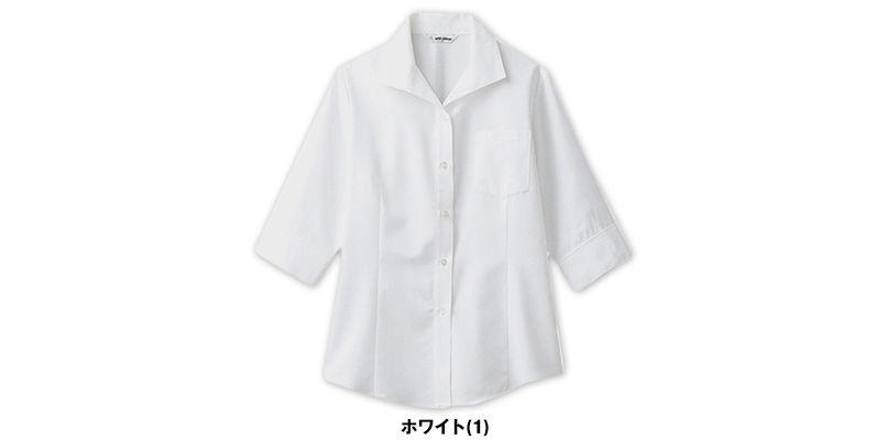 BL-6816 チトセ(アルベ) ブラウス/七分袖(女性用) 色展開