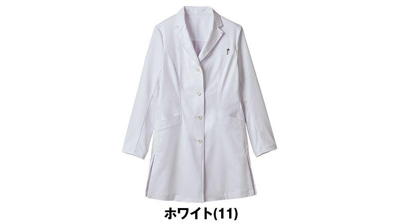 JK112 JUNKO KOSHINO(コシノジュンコ) 長袖ドクターコート(女性用) 色展開