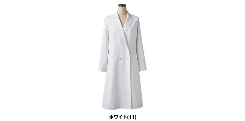 LW101 ローラアシュレイ 長袖ドクターコート(女性用) 色展開