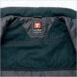 AZ10304 アイトス [秋冬用]タルテックス フードイン中綿ジャケット(男女兼用) 中綿使用