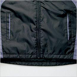 AZ10304 アイトス [秋冬用]タルテックス フードイン中綿ジャケット(男女兼用) バックタレ仕様