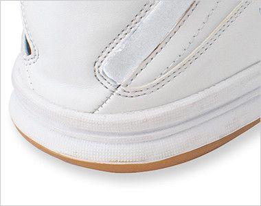 AZ51604 アイトス タルテックス 安全靴 スチール先芯 かかとを踏んでも違和感がなく屋内外両方の作業に最適
