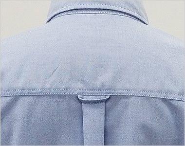 AZ7823 アイトス カナディアンクリーク 半袖T/Cオックスシャツ(男女兼用) 背タック・ハンガーループ