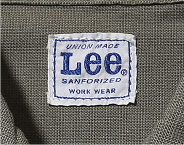 LWB03002 Lee ジップアップジャケット(女性用) Leeワークウェアオリジナルブランドネームタグ