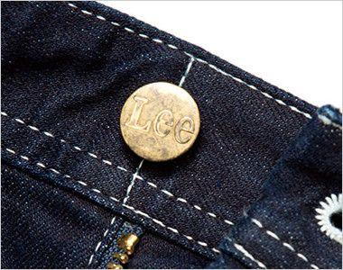 LWP63001 Lee ペインターパンツ(女性用) Leeロゴ入りのオリジナルボタン
