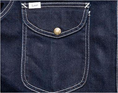 LWU39001 Lee ユニオンオール(長袖ツナギ)(男女兼用) フラップ付