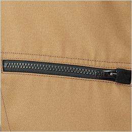 RJ0910 ROCKY ブルゾン(男女兼用) ツイル ポケットは物の落下を防止するファスナー式(スライダーキャップ付)
