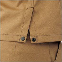 RJ0910 ROCKY ブルゾン(男女兼用) ツイル 腰回りの動きやすさを高めるサイドベンツ付き(ドットボタンで開閉可能)