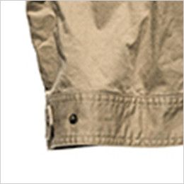 RV1902 ROCKY ツイルフライトベスト(男女兼用) 腰回りのサイズ調整が可能な裾アジャスター付き