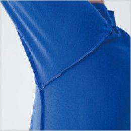バートル 505 カノコ長袖ポロシャツ[左袖ポケット付](男女兼用) 消臭テープ仕様