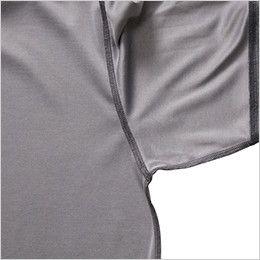バートル 665 ドライメッシュ長袖ポロシャツ(男女兼用)  消臭テープ仕様