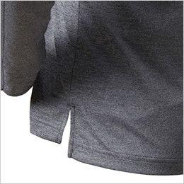 バートル 665 ドライメッシュ長袖ポロシャツ(男女兼用)  スリット