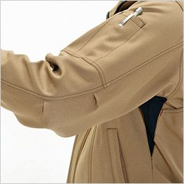 バートル 7081 [秋冬用]制電ストレッチツイルジャケット(JIS T8118適合)(男女兼用) ペンポケット