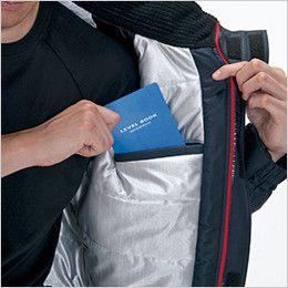 バートル 7210 サーモトロン防寒ブルゾン(大型フード付)(男女兼用) 内ポケット(全天候型保温素材)