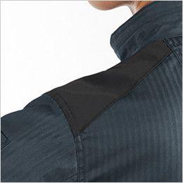 バートル AC1051 エアークラフト[空調服] 制電 長袖ブルゾン(男女兼用) 肩コーデュラ補強布使用