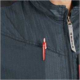 バートル AC1051 エアークラフト[空調服] 制電 長袖ブルゾン(男女兼用) ペンポケット