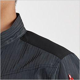 バートル AC1056SET エアークラフトセット[空調服] 制電 半袖ブルゾン(男女兼用) 肩コーデュラ補強布使用