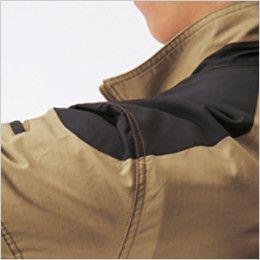 AC1141 バートル エアークラフト[空調服]綿100% ハーネス対応  長袖ブルゾン(男女兼用) コーデュラ補強布使用