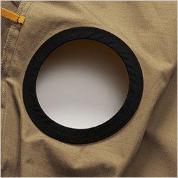 AC1141 バートル エアークラフト[空調服]綿100% ハーネス対応  長袖ブルゾン(男女兼用) 背中ファン取付口