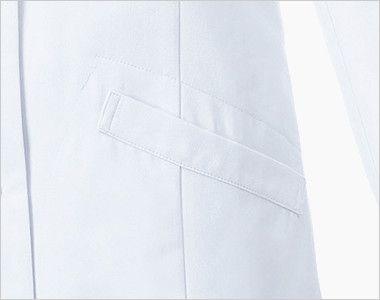 MZ-0175 ミズノ(mizuno) ドクターコート(女性用) ポケット付き