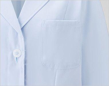 2520 FOLK(フォーク) 女性ハーフコート 長袖(女性用) ポケット