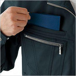 自重堂JAWIN 51800 長袖ジャンパー(新庄モデル) 二重ポケット