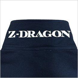 自重堂Z-DRAGON 75114 半袖ポロシャツ(男女兼用) 裏プリント